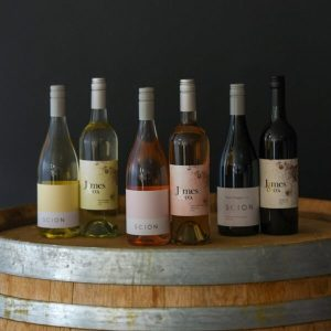 A variety of wines by James & Co