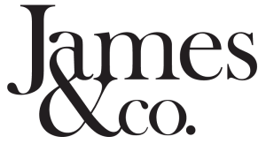 James & Co Logo Black
